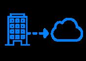Data center extension for extra capacity (dev/test, etc.)