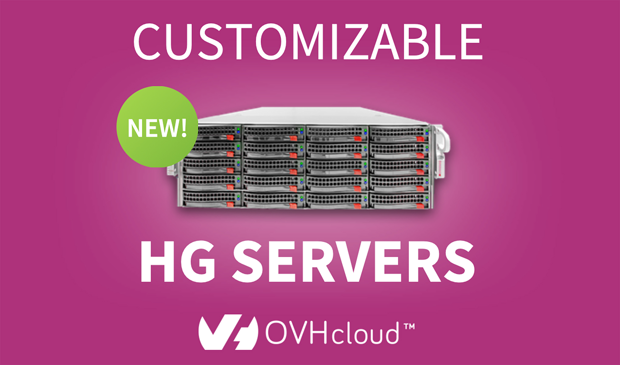 Customizable HG Servers