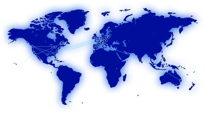 OVHcloud Data Centers World Map