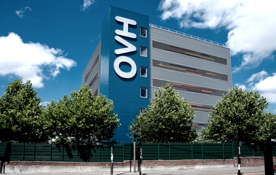 OVH Data Center. Global Cloud Computing Company